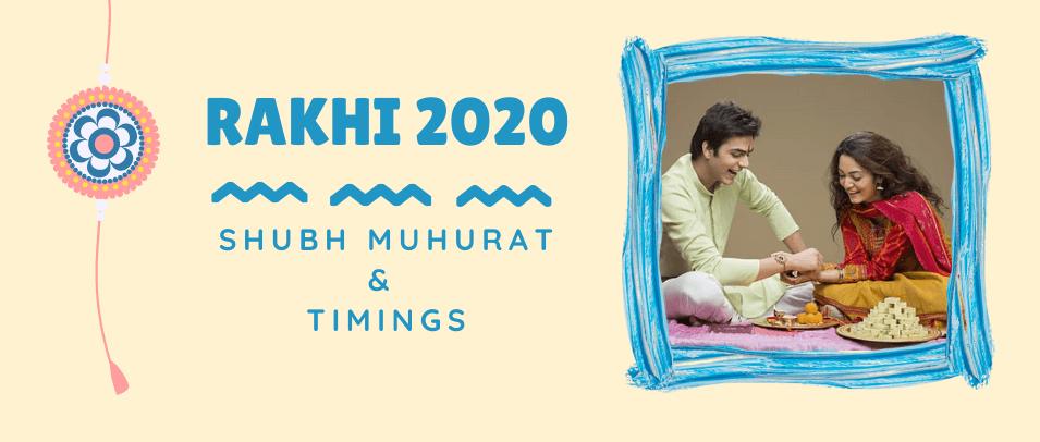 When is Raksha Bandhan in 2020? Shubh Muhurat and Timings
