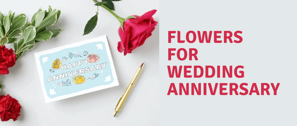 Which Flower is for Your Wedding Anniversary?