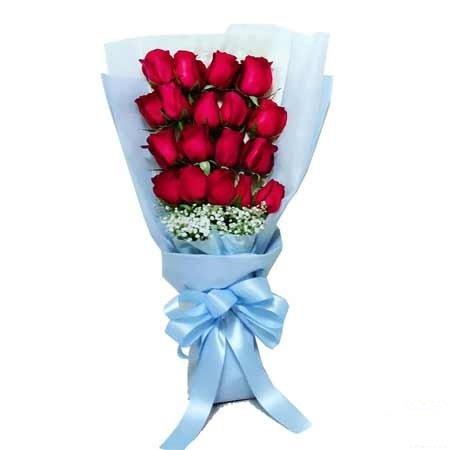 Exquisite Red Rose Bouquet