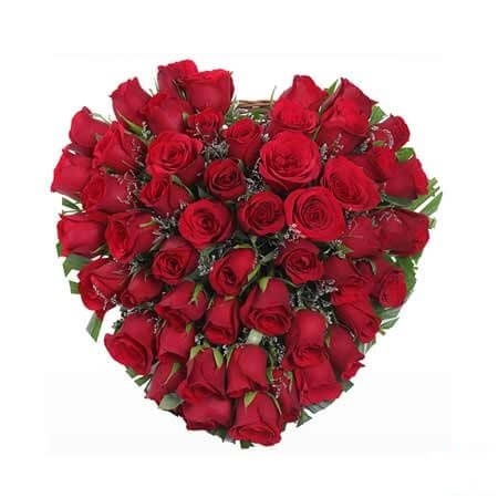 Heart of Red Roses