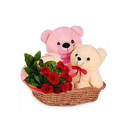 Rose N Teddy Combo