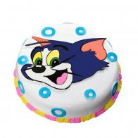 Tom & Jerry Photo Cake
