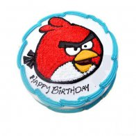 Angry Bird Kids Cake