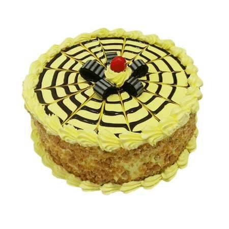 Creamy Butter Scotch Cake