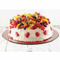 Fruit Delight Cake