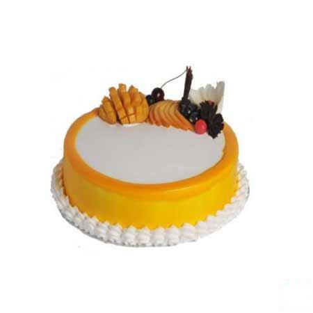 Eggless Mango Delight Cake