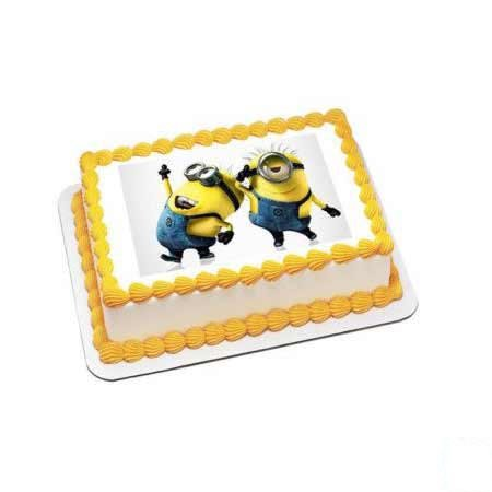 Minion Rectangular Cake
