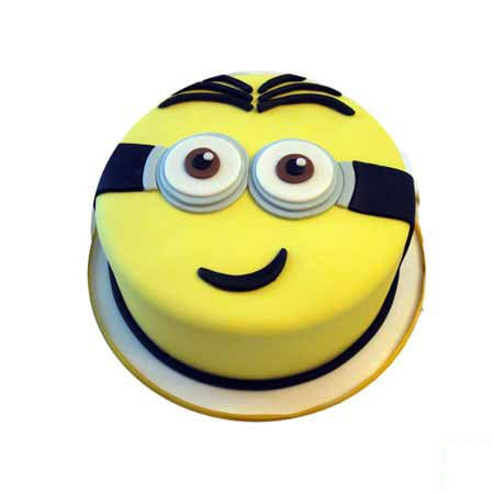 Designer Minion Cake