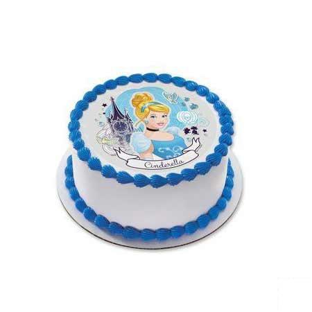 Round Cinderella Cake