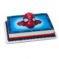 Spider Man Rectangular Cake