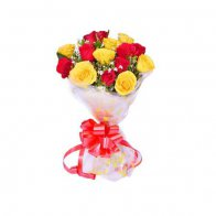 Red & Yellow Roses Bouquet