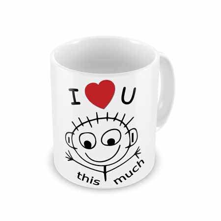 Luv U So Much Mug