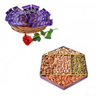 Dry Fruit & Chocolate Basket