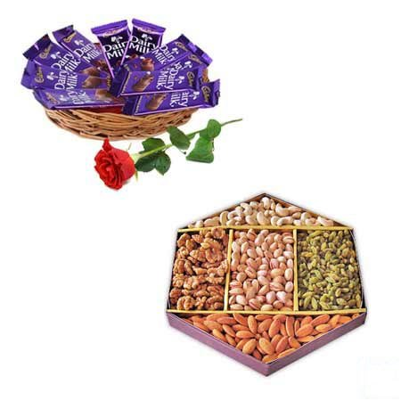 Dry Fruit & Chocolate Basket