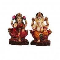 Maa Lakshmi & Ganesha