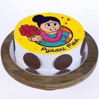 Pyaari Maa Pineapple  Cake