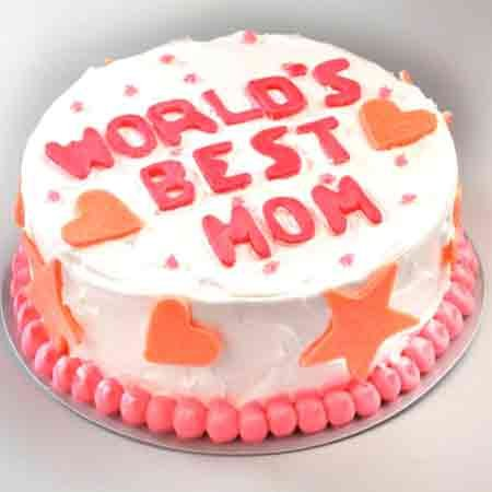 World's Best Mom Cake