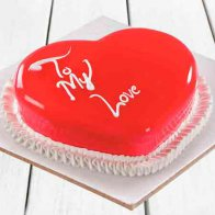 My Love Heart Cake