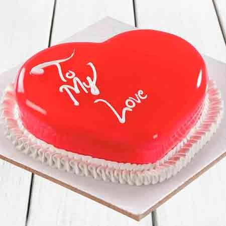 My Love Heart Cake