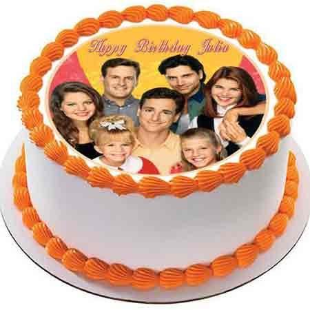 Classic Photo Cake