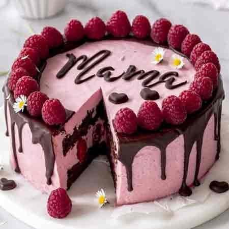 Strawberry Mom Cake