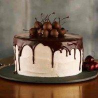 Choco Cherry Cake
