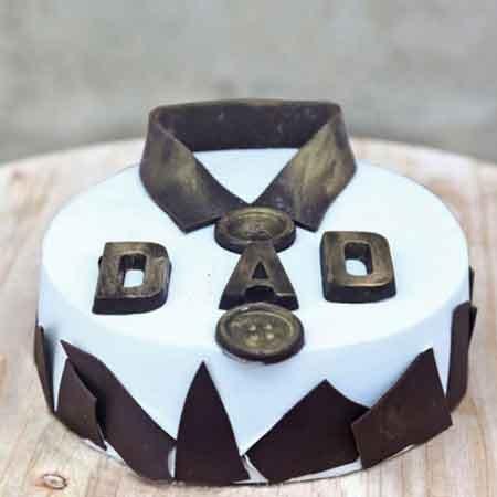 Fathers Day Fondant Cake