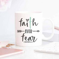 Faith Quote Mug