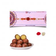 Rakhi & Gulab Jamun Gift