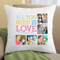Photo Collage Cushion