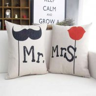 Mr. & Mrs Cushion