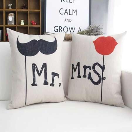 Mr. & Mrs Cushion