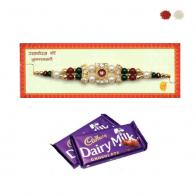 Pearl Rakhi Gift