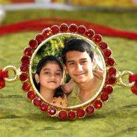 Bro Pic Personalized Rakhi