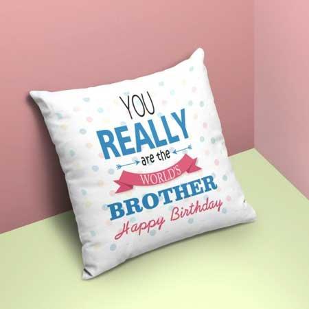 Happy Bday Bro Cushion