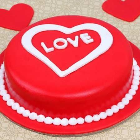 Love Red Velvet Cake