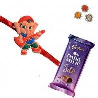 Kids Rakhi with Chocolate
