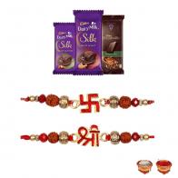 Divine Rakhi Chocolate Combo