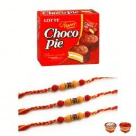 Choco Pie Rakhi Gift Set