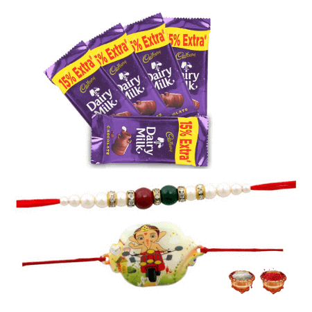 Rakhis with Dairy Milk Bliss