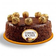 Rocher Balls Cake