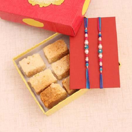 Rakhi Milk Sweets Gift