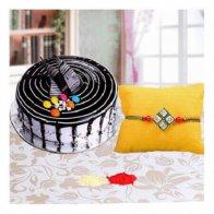 Rakhi N Choco Vanilla Cake