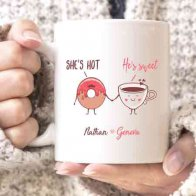 Sweet & Hot Couple Mug