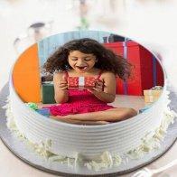 Rakhi Sis Pic Cake