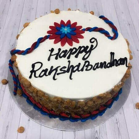ButterScotch Rakhi Cake Luv