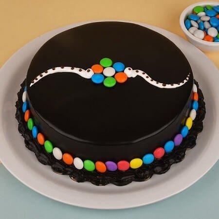 Rakhi Gems Combo Cake