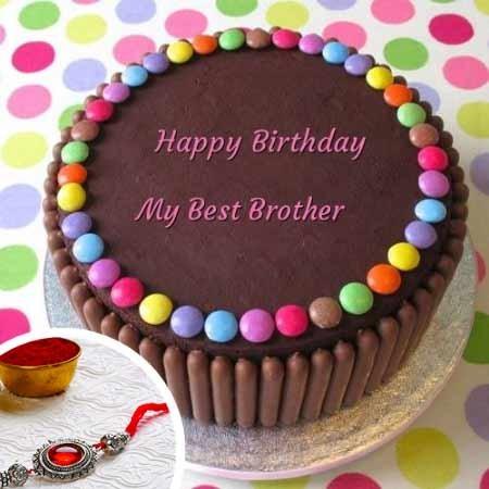 Best Bro Rakhi Cake Combo