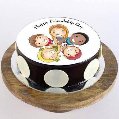 Har Friend Zaroori Photo Cake