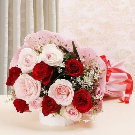 Red N Pink Roses Beauty